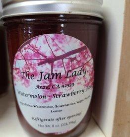 Watermelon-Strawberry Jam