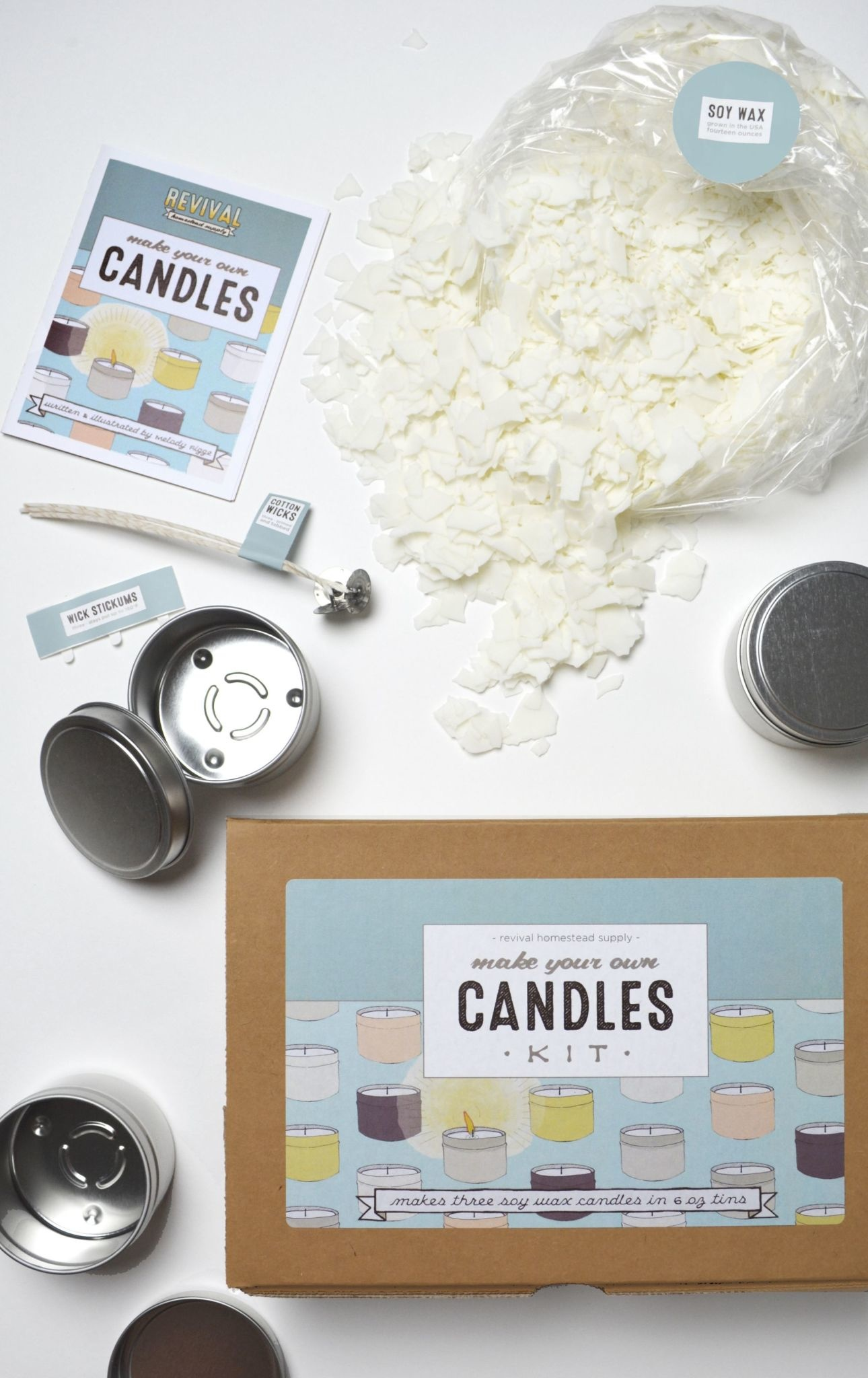 Candle Kit, Make Your Own Candles W/Essential Oils Scent ...