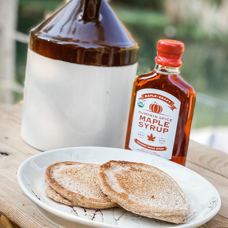 pumpkin spice maple syrup
