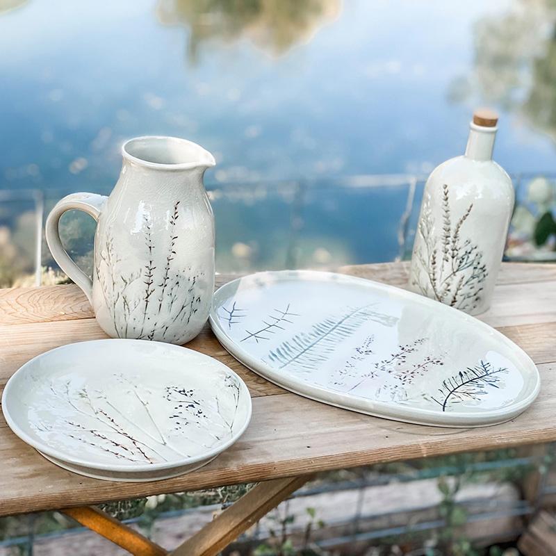 Botanical Stoneware
