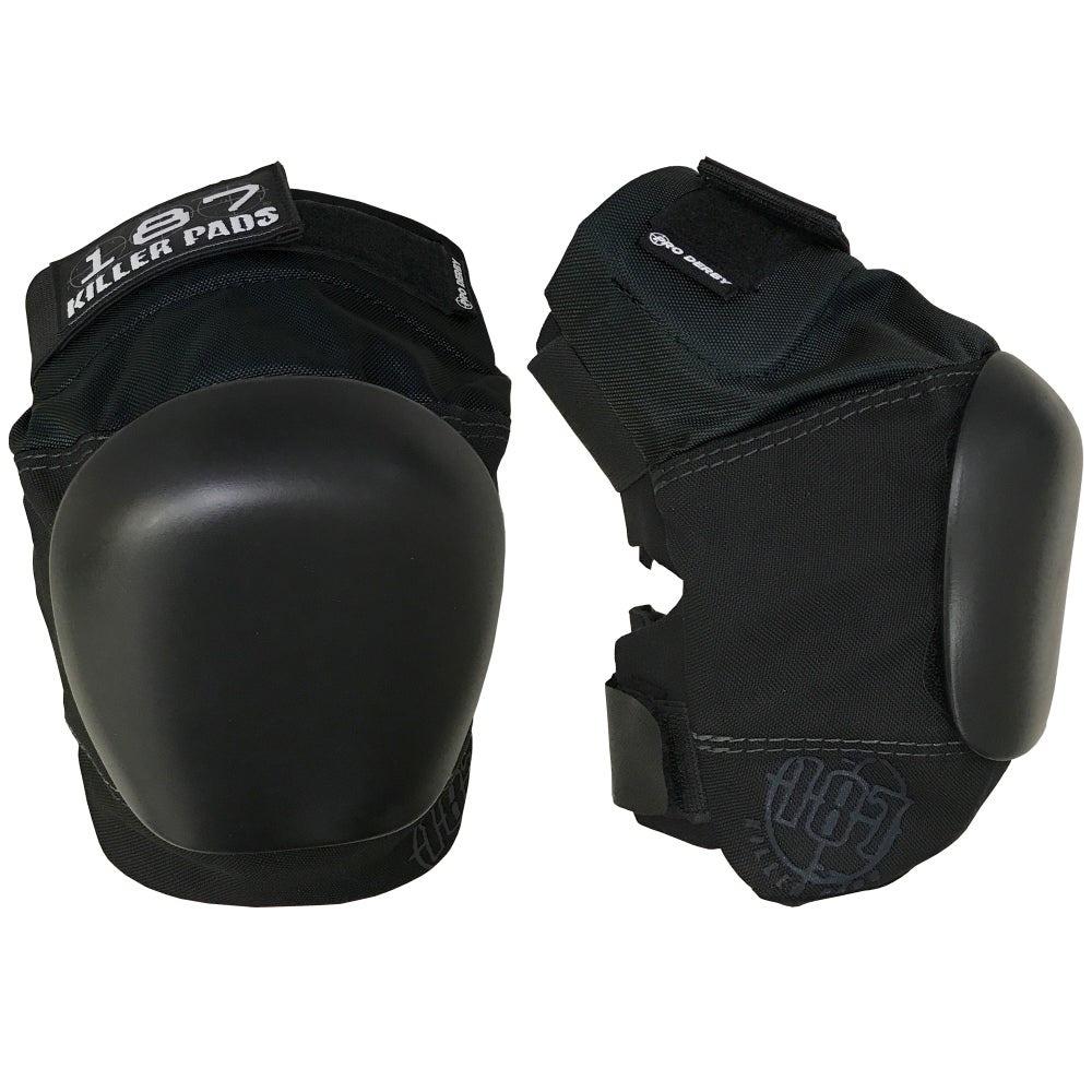 Pro Derby Knee Pad Black