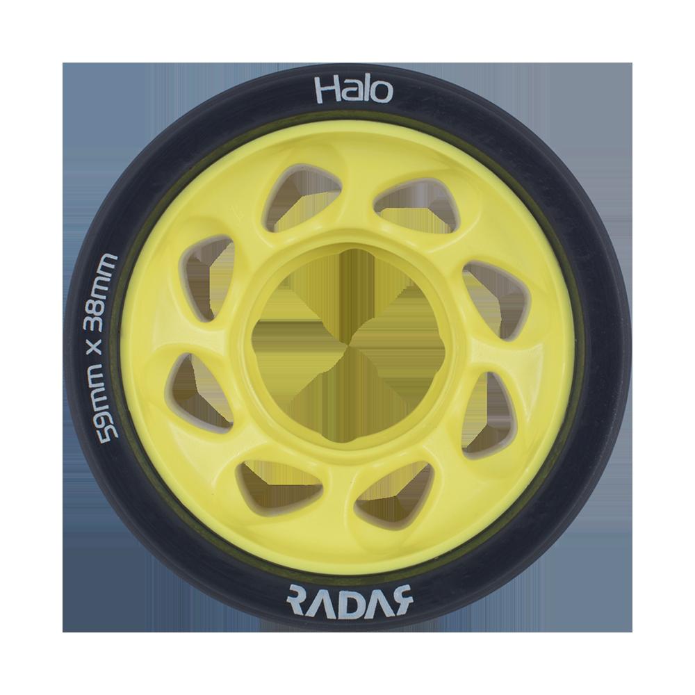 DERBY WHEEL Radar Halo 4 pk