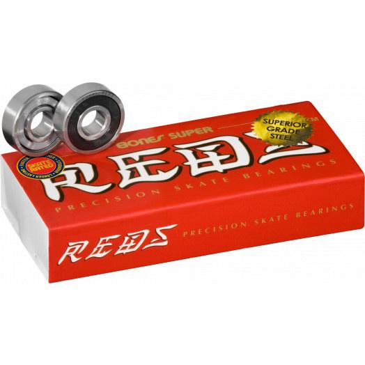 Bones Super Reds Bearings 8mm 16pk