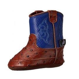 BLAZIN ROXX WESTON BLUE BABY BUCKER BOOTS