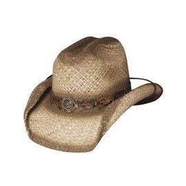 BULLHIDE BULLHIDE KIDS STRAW HAT HORSE PLAY