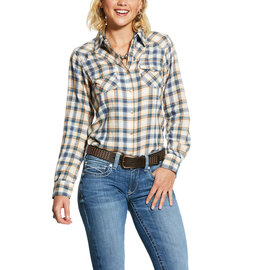 ARIAT ARIAT WOMAN'S R.E.A.L. NATURAL SHIRT