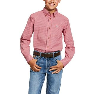ARIAT ARIAT BOYS PRO SERIES LONG SLEEVE GROVER SHIRT