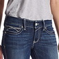 ARIAT ARIAT WOMENS R.E.A.L. JEANS ROSY WHIPSTICH LOW RISE
