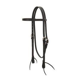 WEAVER WEAVER BLACK LEATHER BROWBAND HEADSTALL