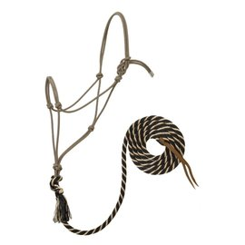 "WEAVER WEAVER ROPE HALTER WITH 10"" LEAD"