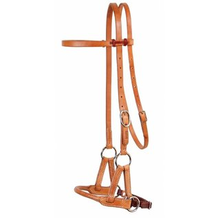 PROFESSIONAL'S CHOICE PROFESSIONAL'S CHOICE SIDEPULL ROUND LEATHER NOSE