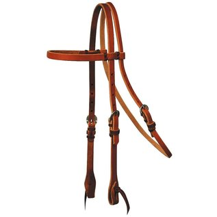 REINSMAN REINSMAN TIED AND TWISTED HEADSTALL BROWBAND