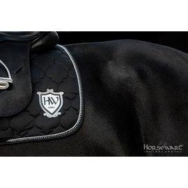 HORSEWARE IRELAND HORSEWARE RAMBO DIAMANTE SADDLE PAD