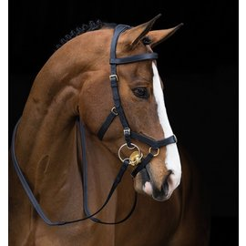 HORSEWARE IRELAND HORSEWARE RAMBO MICKLEM WITH RUBBER REINS