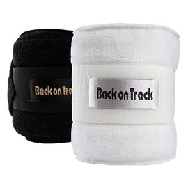 BACK ON TRACK BACK ON TRACK THERAPEUTIC FLEECE POLO BANDAGE (PAIR)