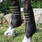 PROFESSIONAL'S CHOICE PROFESSIONAL'S CHOICE OPEN FRONT BOOT HORSE - BLACK LARGE