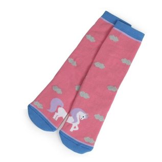 SHIRES SHIRES CHILDS BOOT SOCK COTTON UNICORN