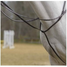 SHIRES SHIRES RAISED FANCY STITCHED STANDING MARTINGALE  *CLR*