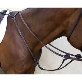NUNN FINER NUNN FINER BELLISSIMO HUNT BREASTPLATE WITH ELASTIC
