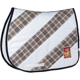 LETTIA LETTIA UNION HILL AP SADDLE PAD WITH DIAGONAL BAKER DESIGN