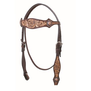 COUNTRY LEGEND COUNTRY LEGEND TWO-TONE BROWBAND HEADSTALL