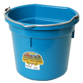 LITTLE GIANT LITTLE GIANT PLASTIC FLAT BACK BUCKET - 20QT