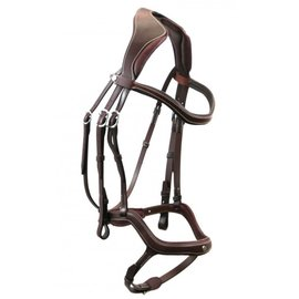 ANTARES ANTARES PRECISION Y BRIDLE WITH RUBBER REINS