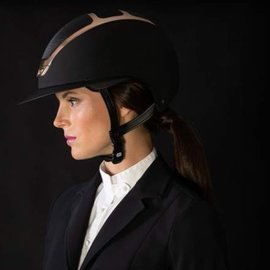 KASK KASK DOGMA STAR LADY BLACK/EVERYROSE HELMET