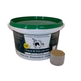 HERBS FOR HORSES CALM AND COLLECTED BY HERBS FOR HORSES
