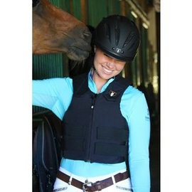TIPPERARY TIPPERARY SAFETY VEST ADULT  RIDE-LITE BLACK