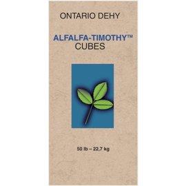 ONTARIO DEHY ONTARIO DEHY TIMOTHY/ALFALFA CUBES 50lbs