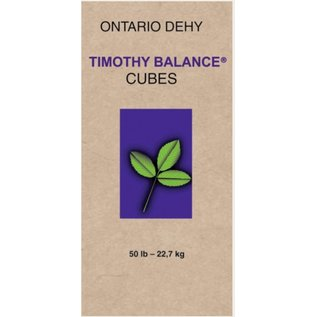 ONTARIO DEHY ONTARIO DEHY TIMOTHY COMPLETE (BALANCED) CUBES 50lbs