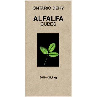 ONTARIO DEHY ONTARIO DEHY ALFALFA CUBES 50lbs
