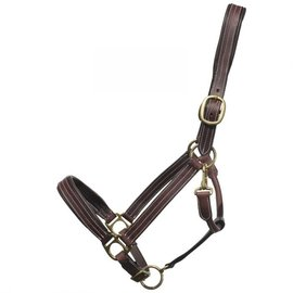GER-RYAN BROMONT LEATHER FANCY STITCHED PADDED HALTER FULL