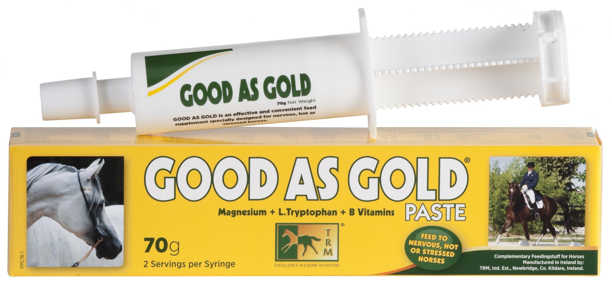GOOD AS GOLD - Wilton Tack