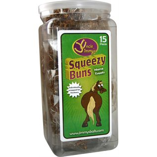 UNCLE JIMMY'S UNCLE JIMMY'S SQUEEZY BUNS HORSE SNACK
