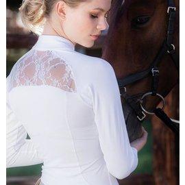 HORSEWARE IRELAND HORSEWARE SARA COMPETITION SHIRT WHITE LADIES LONG SLEEVE