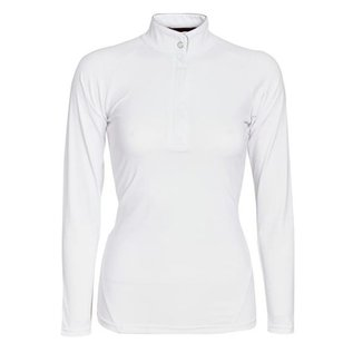 HORSEWARE IRELAND HORSEWARE SARA COMPETITION SHIRT WHITE LADIES LONG SLEEVE