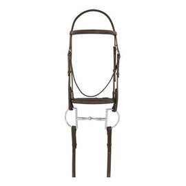 CAMELOT CAMELOT GOLD FANCY RAISED BRIDLE