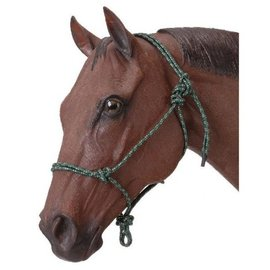 TOUGH-1 POLY TIED ROPE HALTER - HORSE SIZE