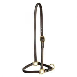 TORY LEATHER TORY LEATHER GROOMING HALTER - HAVANA