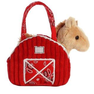AURORA FANCY PALS RED BARN HORSE