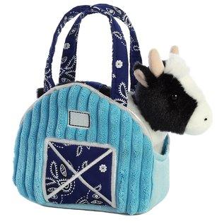 AURORA FANCY PALS AQUA BLUE BARN COW