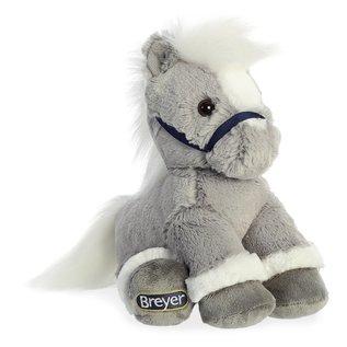 AURORA BREYER PLUSH GREY HORSE
