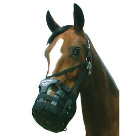 BEST FRIEND EQUINE SUPPLY BEST FRIEND HAVE-A-HEART ADJUSTABLE NEOPRENE GRAZING MUZZLE