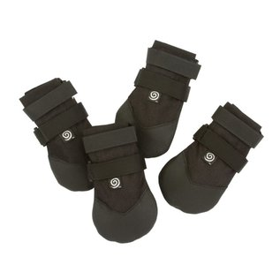 ULTRA PAWS ULTRA PAWS RUGGED DOG BOOTS - BLACK