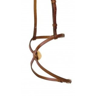 TORY LEATHER TORY LEATHER FIGURE 8 NOSEBAND WITH SLIDES *CLR*