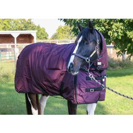 TECH EQUESTRIAN TECH TURNOUT 1680D WITH DETACHABLE NECK MEDIUM (250G)