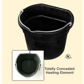 FARM INNOVATORS INC. HEATED BUCKET RUBBER FLAT BACK - 18qt