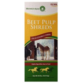 BEET PULP SHREDS PLAIN  40LBS - PESTELL